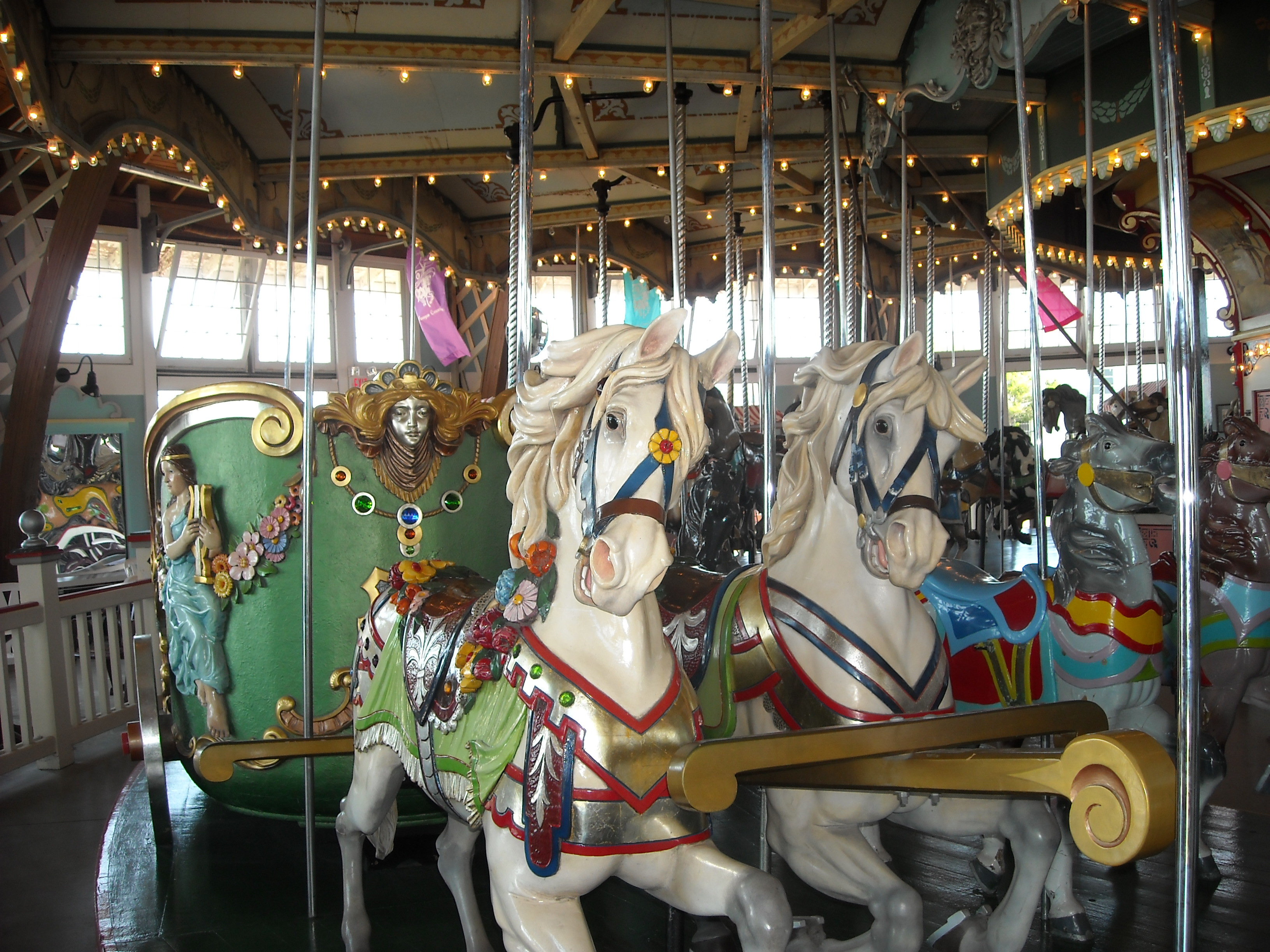 Dentzel Horses And Chariot Paragon Carousel