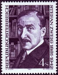 Austrian postage stamp celebrating Stefan Zweig